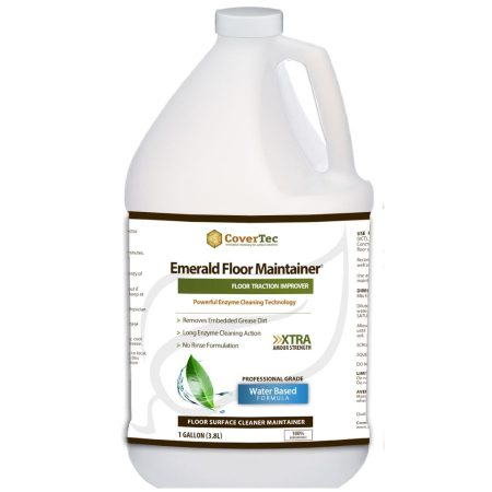 Emerald Enzyme Floor Maintainer and Cleaner. A Natural Degreaser and Floor Safety Solution