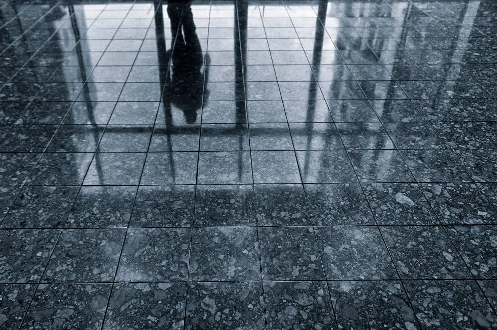 Can You Tell If Those Glossy Floors Are Slippery? Can Your Customers Or Clients?