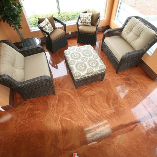 Making Epoxy Surfaces more Slip Resistant