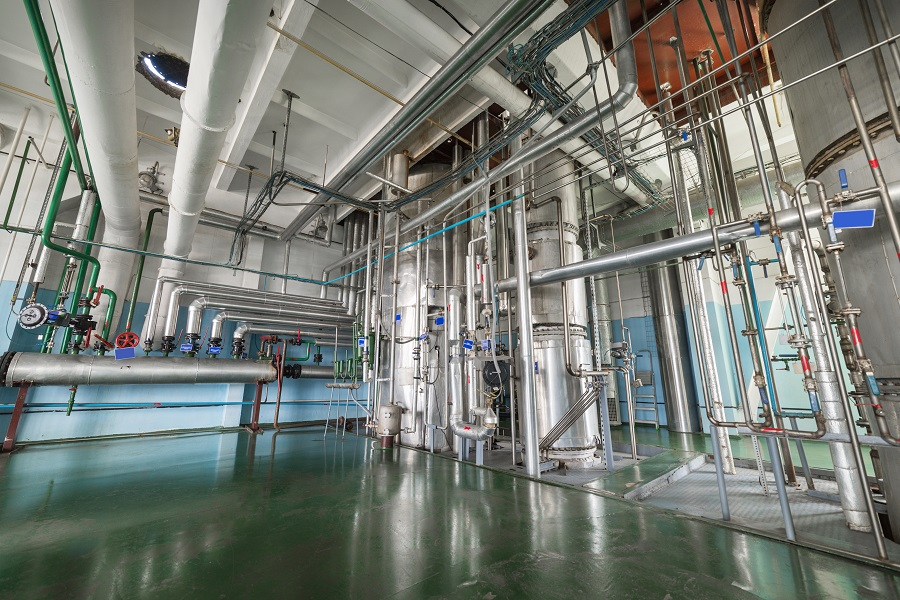 Protect Refinery Floors Against Oils And Petroleum Stains