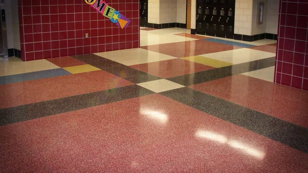 High Gloss Sealer For Terrazzo Flooring Covertec Products - How to clean old terrazzo floors
