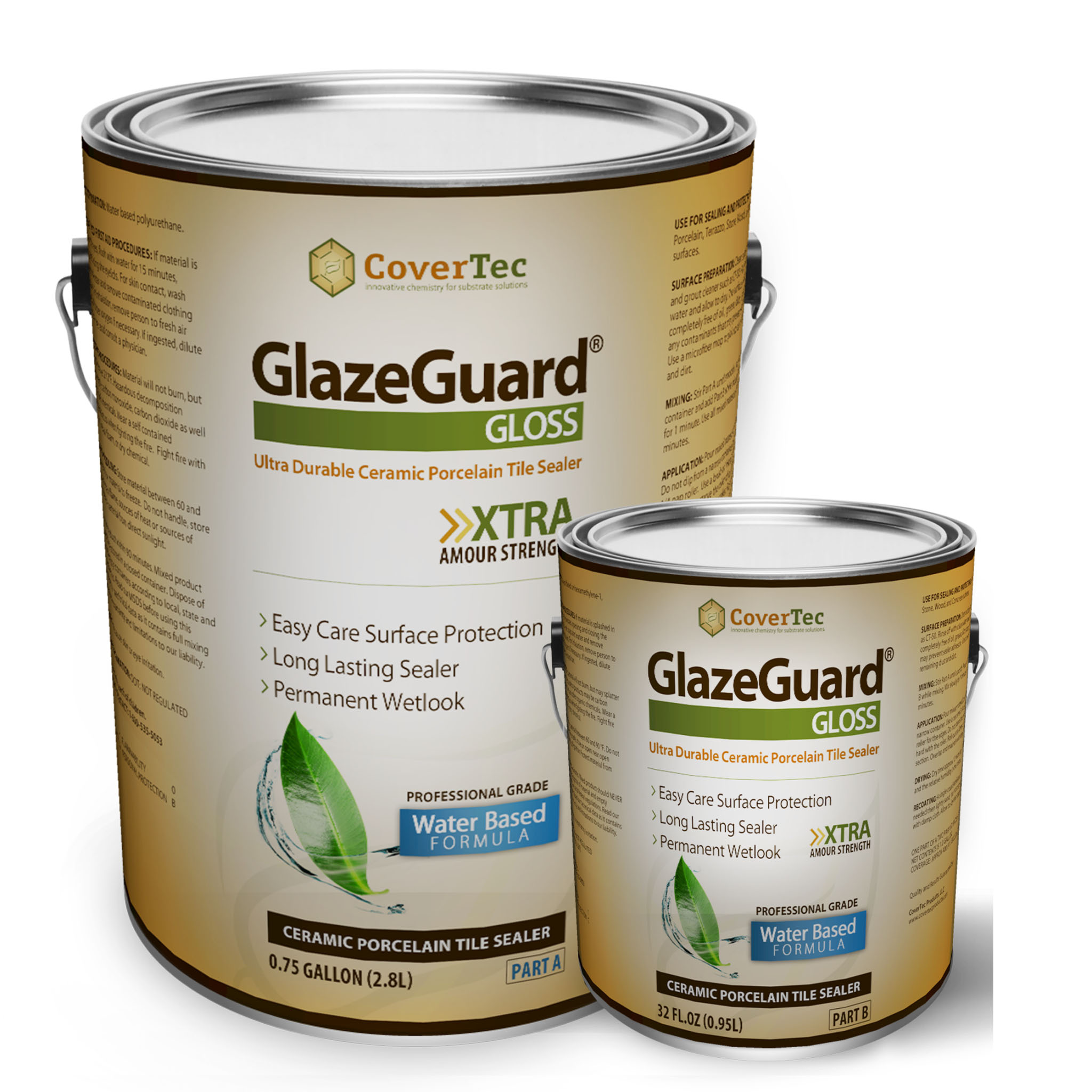 Glazeguard gloss ceramic porcelain tile sealer hgloss glazeguard gloss ceramic porcelain tile sealer hgloss covertec products doublecrazyfo Gallery