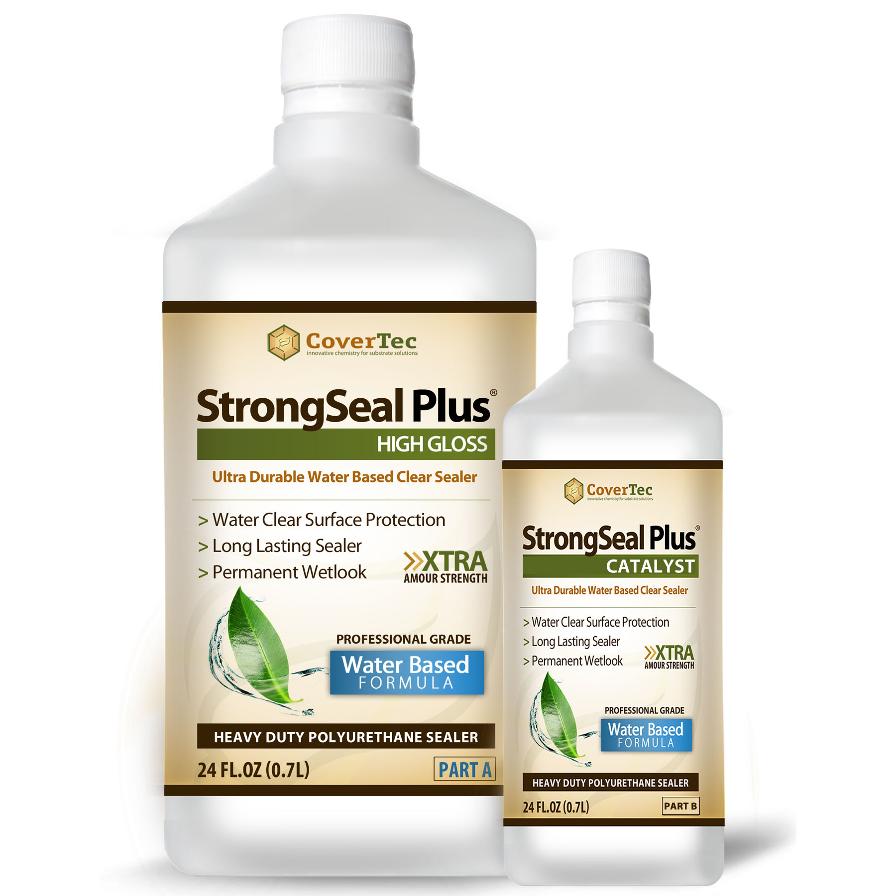 StrongSeal Plus Gloss Heavy Duty WB Polyurethane Coating H