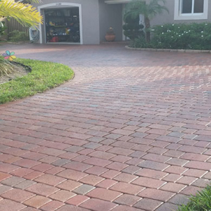 Pavers and natural stone cleaning stained concrete sunrise for Clean oil off concrete