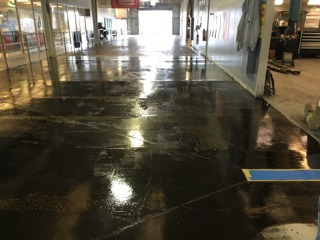 Concrete Floor Cleaner Sunrise