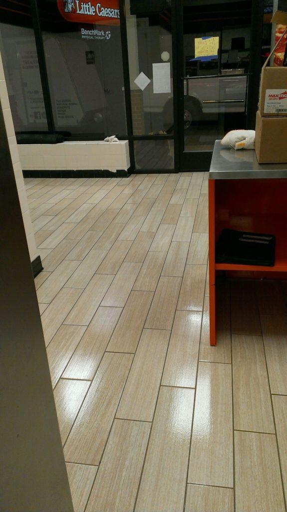 Glazeguard Matte Ceramic Porcelain Tile Sealer Flat Finish