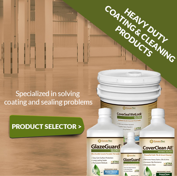 Covertec products solutions clean oil from concrete sunrise for Clean oil from concrete