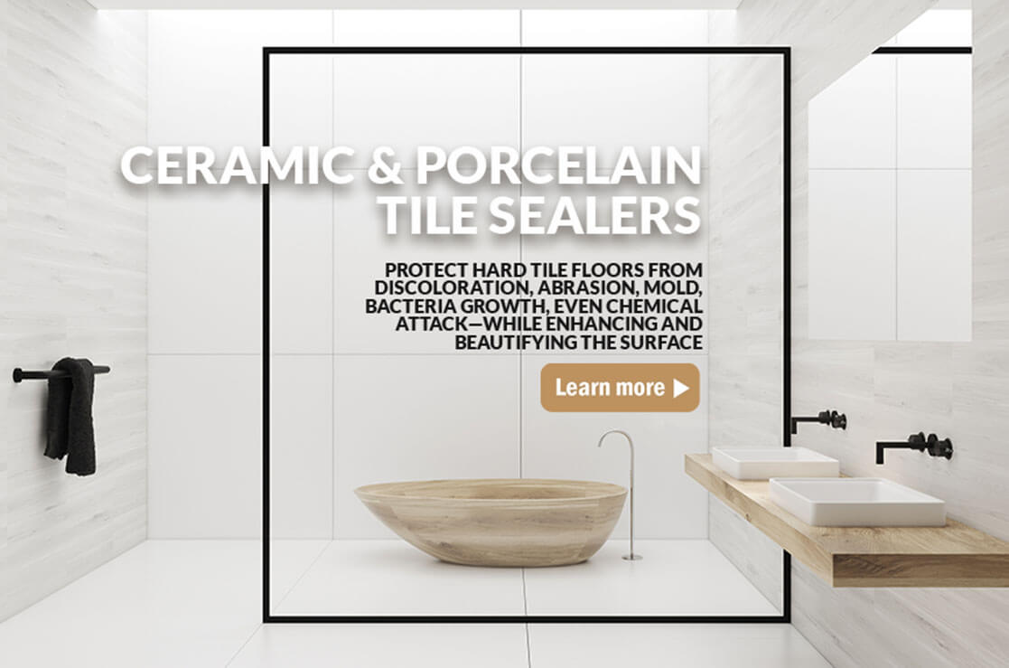 Ceramic and Porcelain Tile Sealers