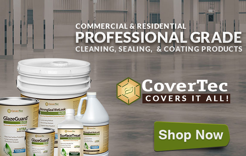 Professional Grade Cleaning, Sealing and Coating Products