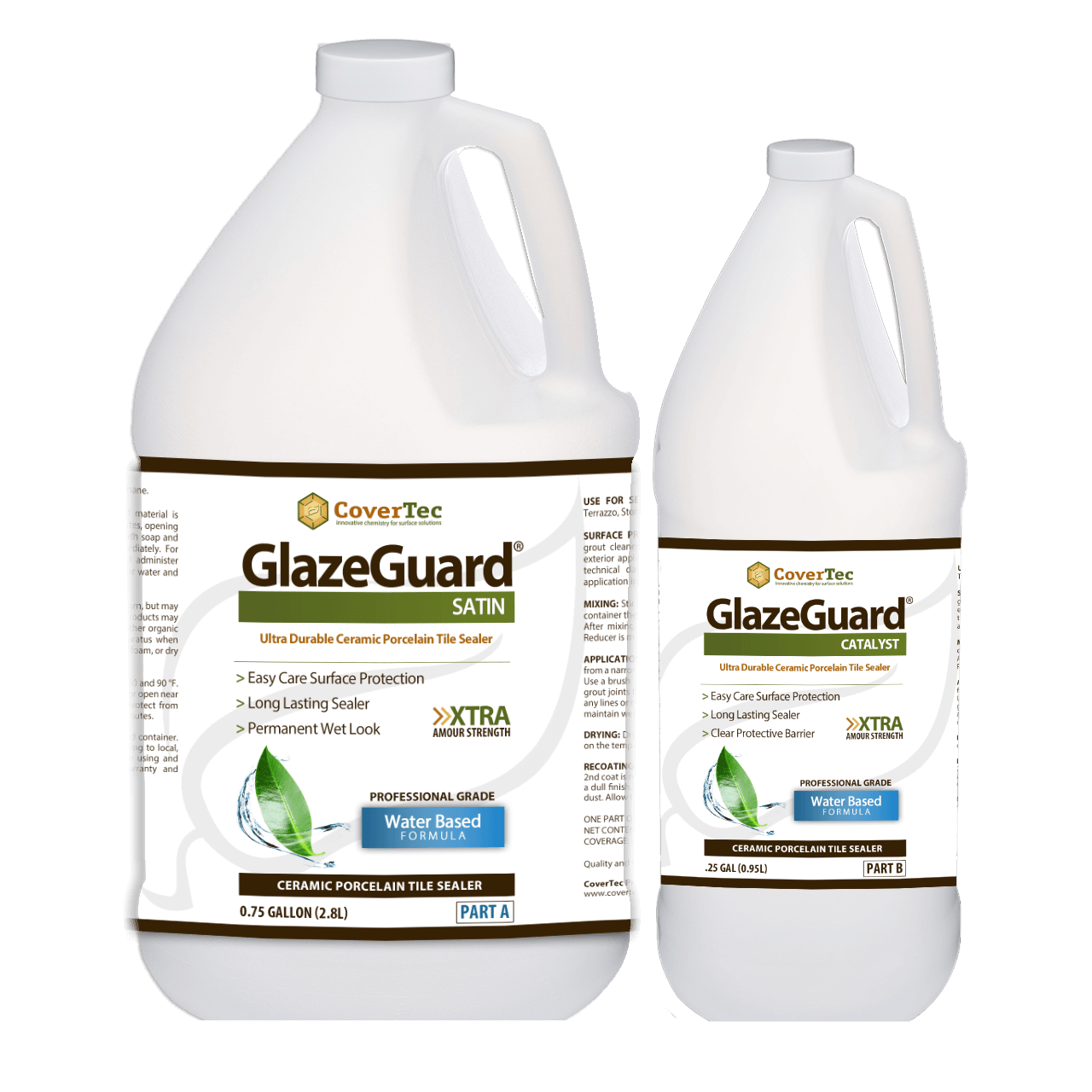 Glazeguard Satin Finish Glazed Porcelain Tile Sealer