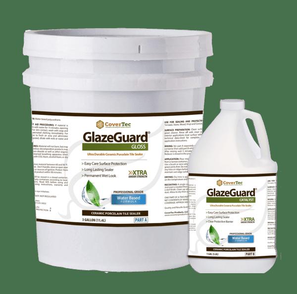 Glazeguard High Gloss Sealer For Porcelain And Ceramic Tiles