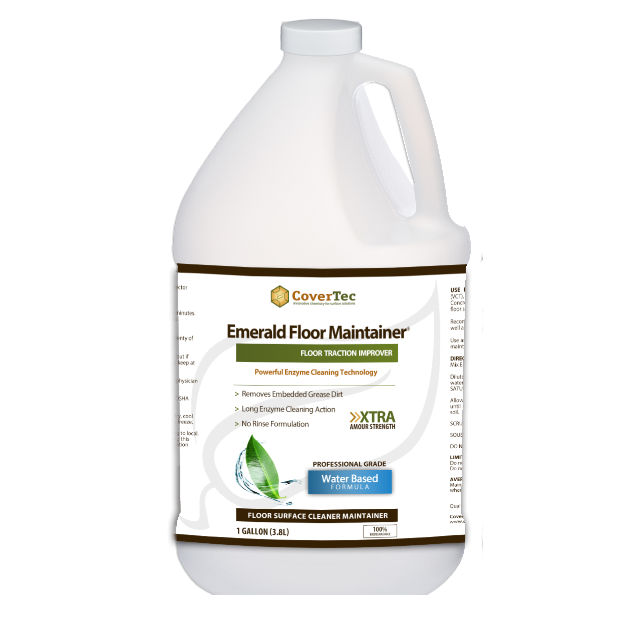 Emerald Enzyme Floor Maintainer And Cleaner Covertec