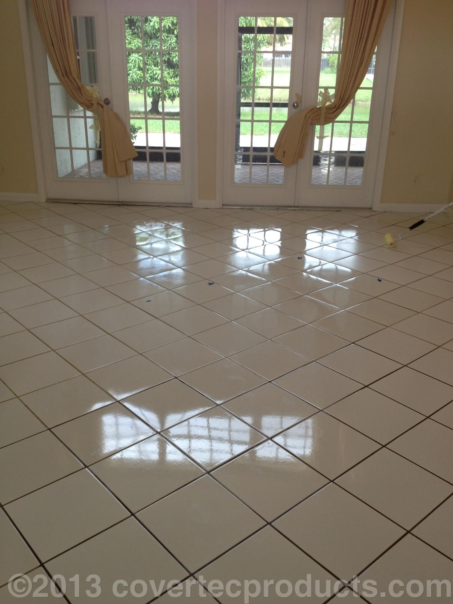 Porcelain Tile Sealer High Gloss