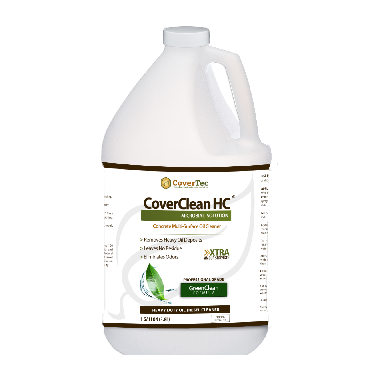 CoverClean HC Microbial Cleaner For Oils & Diesel