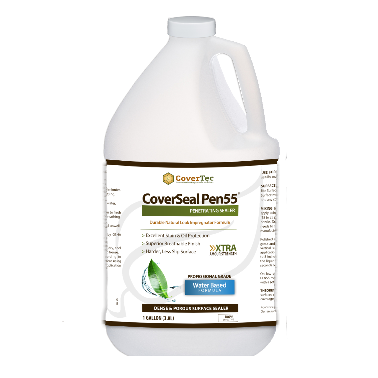 CoverSeal PEN55 Oil And Stain Resistant Penetrating Sealer