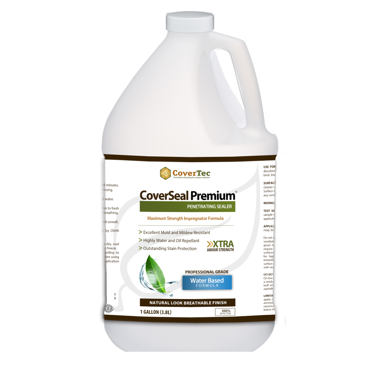 CoverSeal PREMIUM Penetrating Sealer With Maximum Stain Resistance