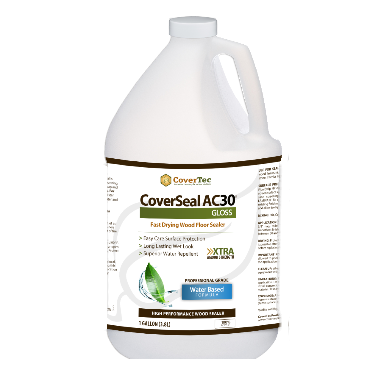 CoverSeal AC30 Wood Floor/Laminated, H/Gloss Sealer