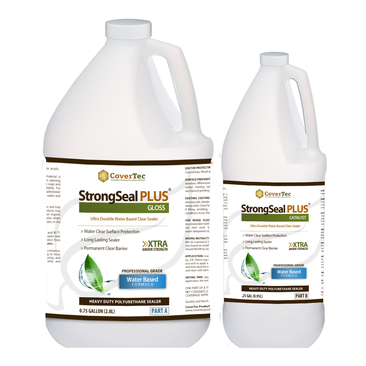 StrongSeal Plus Gloss Heavy Duty WB Polyurethane Coating