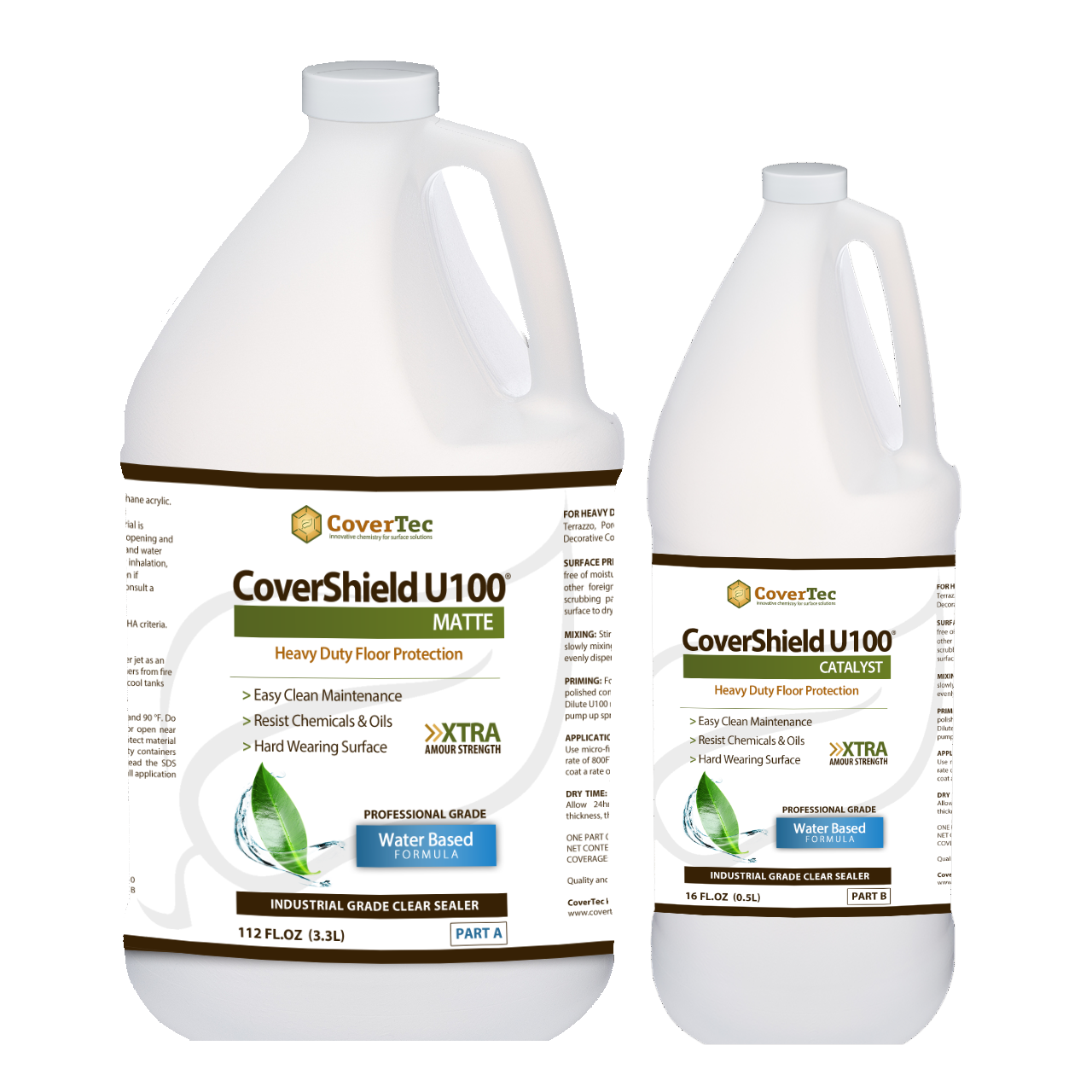 CoverShield U100 Matte Acid And Stain Resistant Low Shine Coating