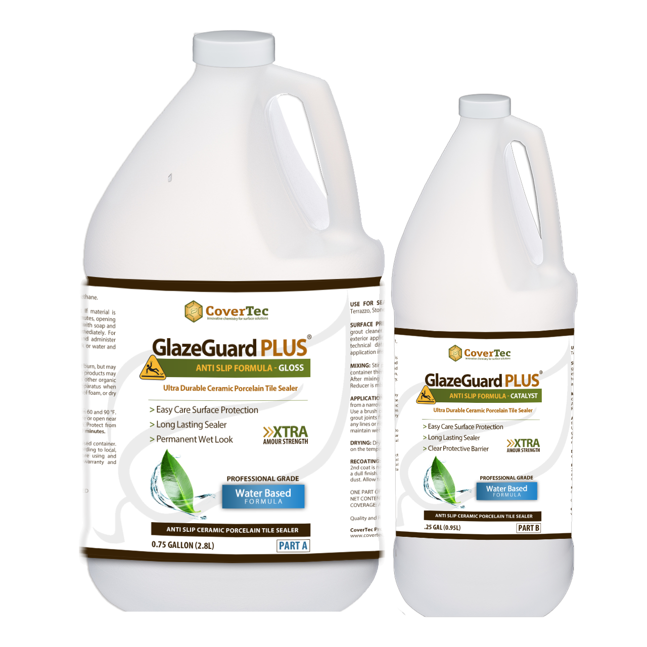 GlazeGuard Plus Anti Slip Floor Coating And Treatment For Ceramic, Porcelain And More