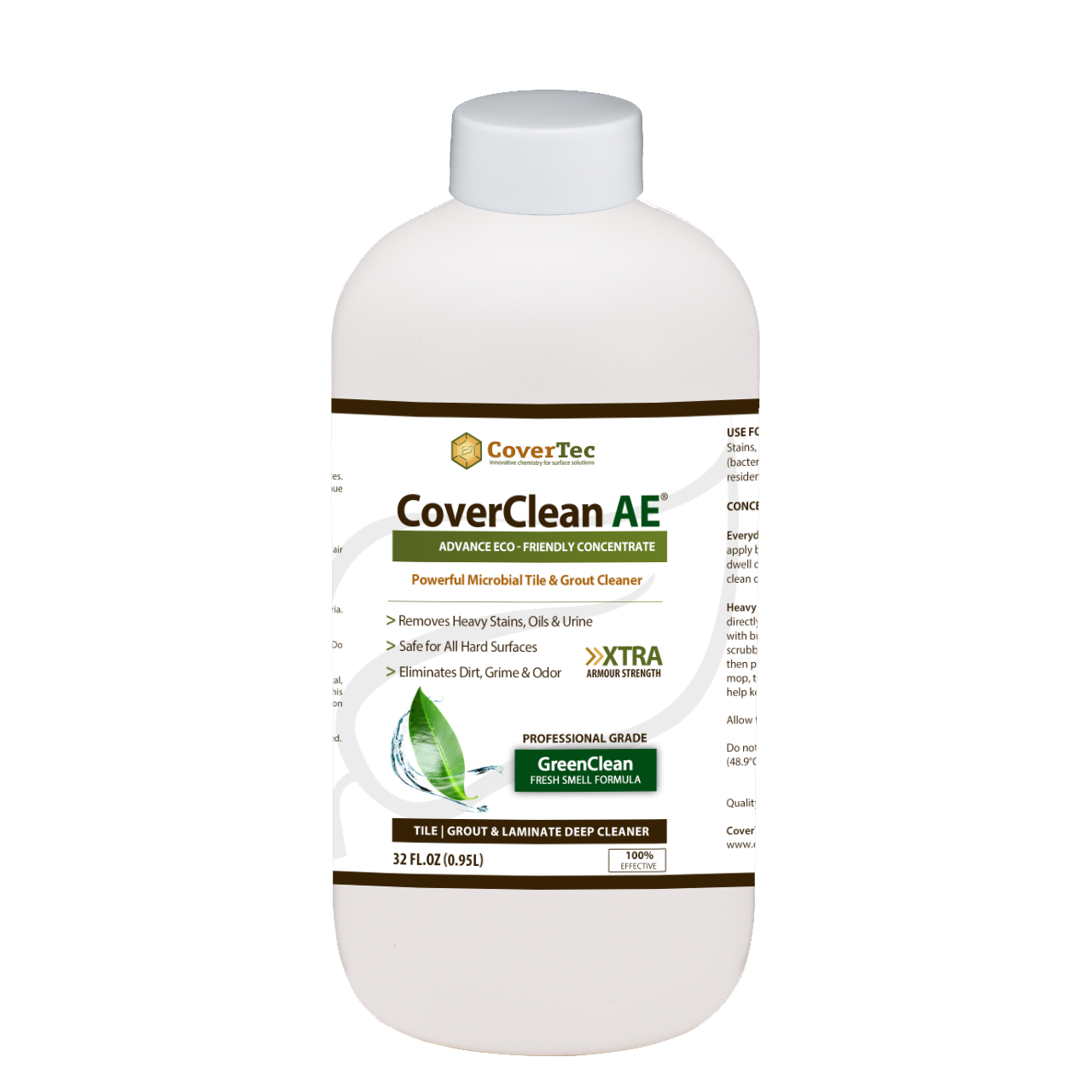 CoverClean AE Microbial Cleaner For Tile & Grout