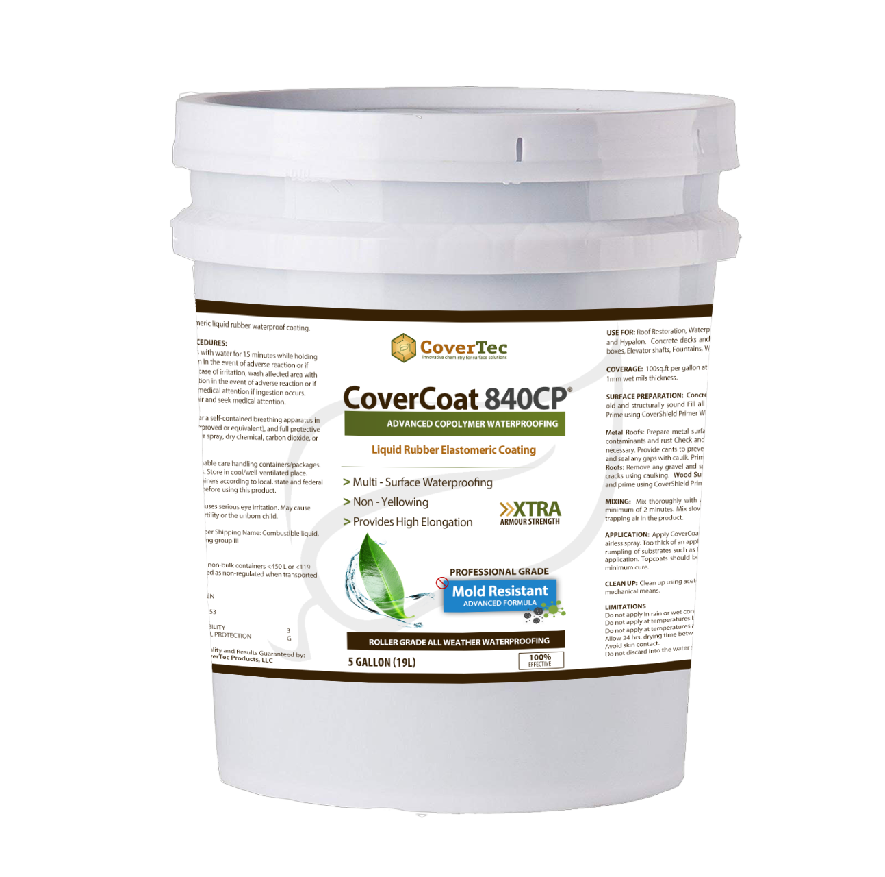 CoverCoat 840-CP Roof Coating