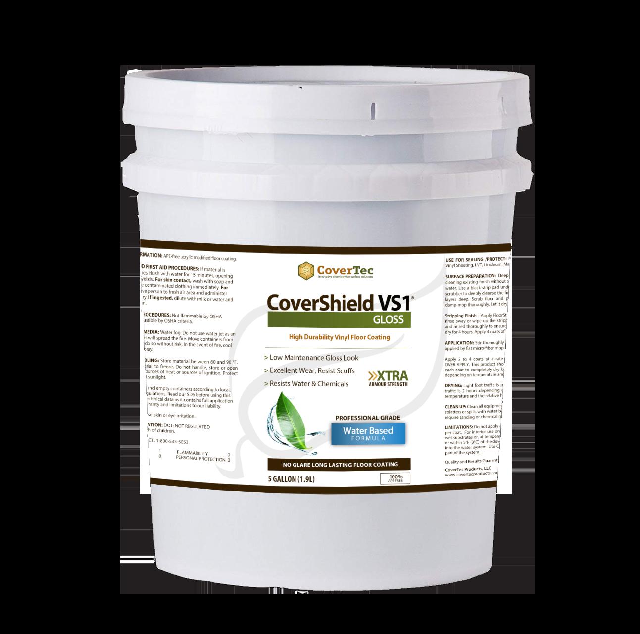 CoverShield VS1 Fast Drying 1 Part Coating H/Gloss